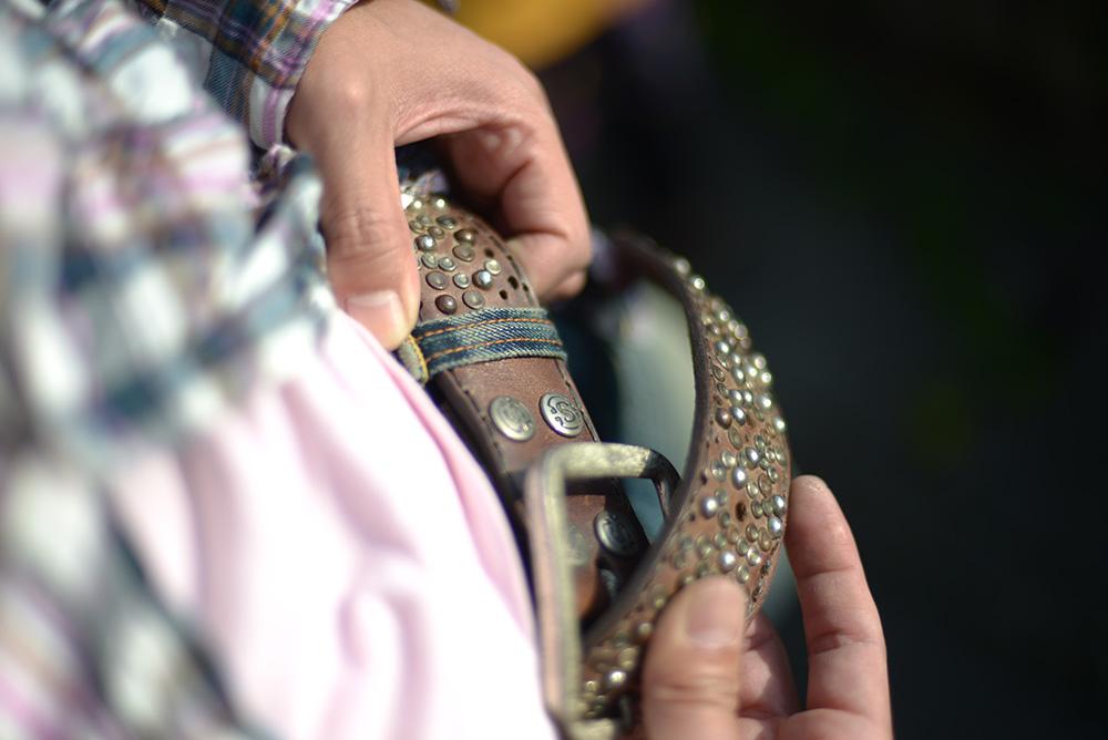ベッカムなどセレブが愛する スペイン製ブーツ ベルト