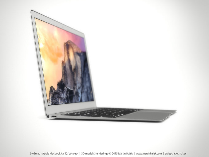 新型 Mac Book Air 2015