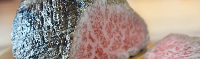 熟成肉のローストビーフ