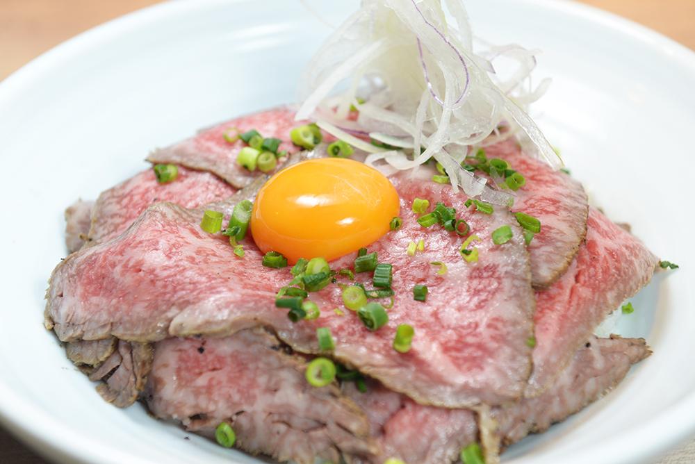 熟成肉ローストビーフ丼