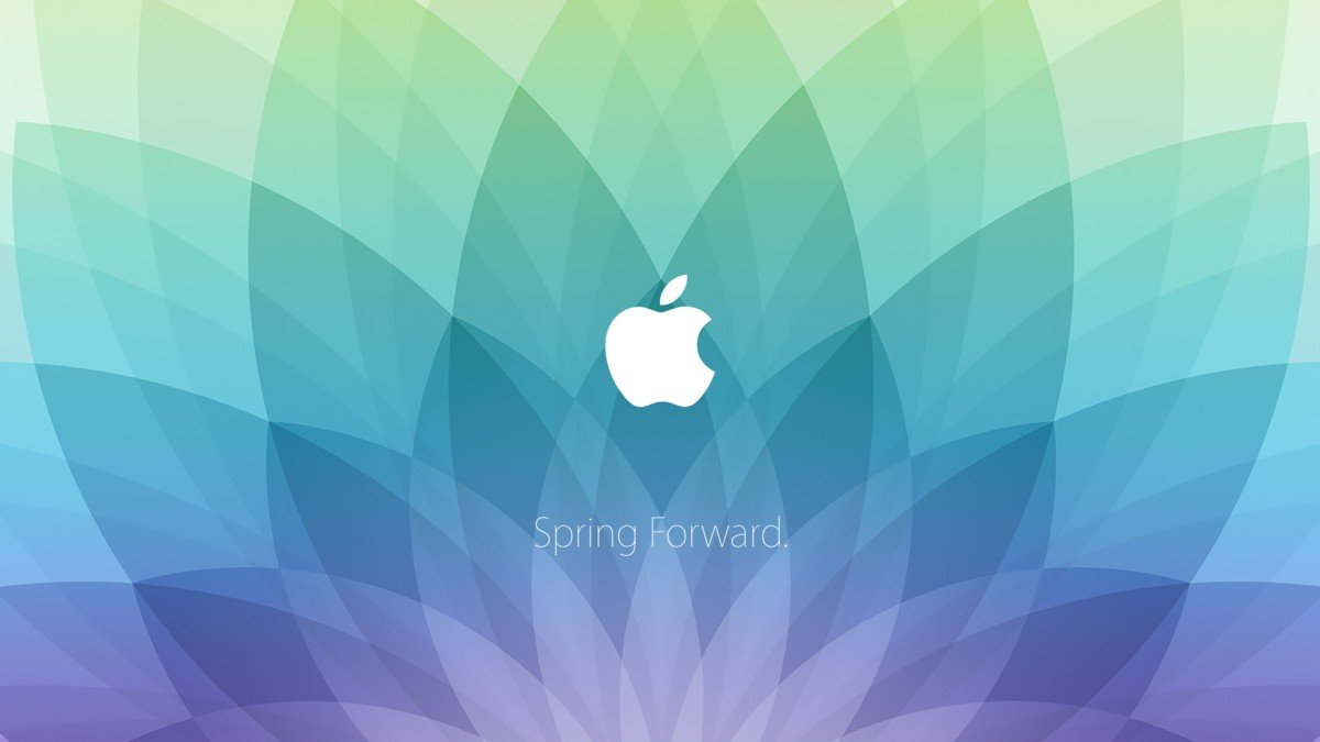 Spring forward apple 2015