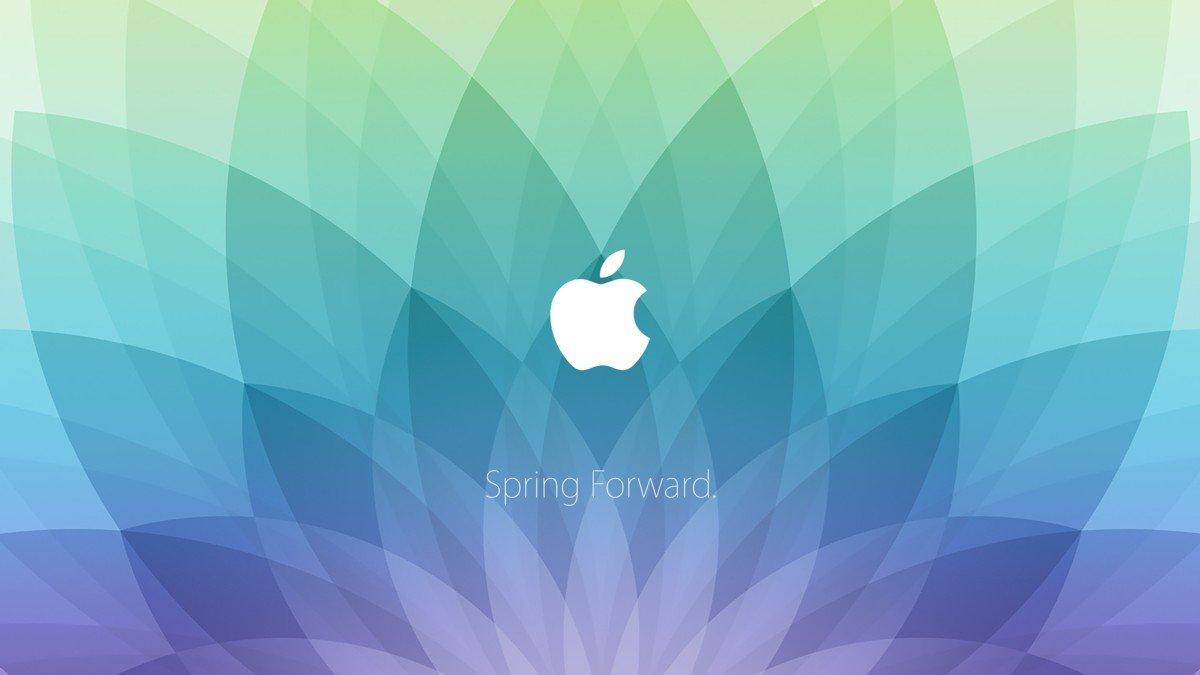 Spring forward apple 2015