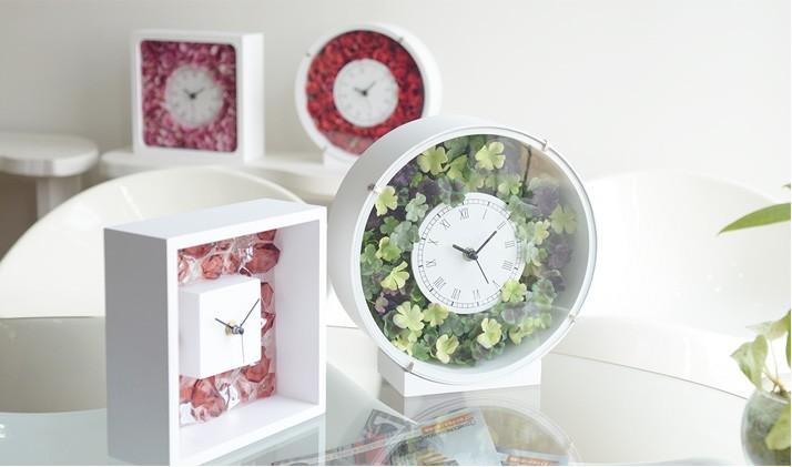 ずっと、ながく使える花時計